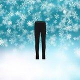 Kinder Thermo Pantalon Zwart_