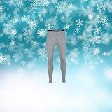 Unisex Thermo pantalon Grijs_