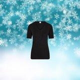Thermo dames shirt met K.M. Zwart_