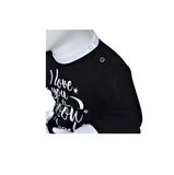 """Baby pyjama Beeren """"To the Moon"""" Zwart_"""