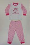 """Baby pyjama Beeren """"Do not Disturb"""" Roze_"""