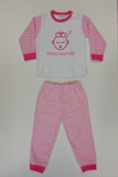 "Baby pyjama M3000 ""Do not Disturb"" Roze_"