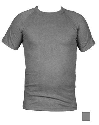 Unisex Thermo shirt met korte mouw Grijs