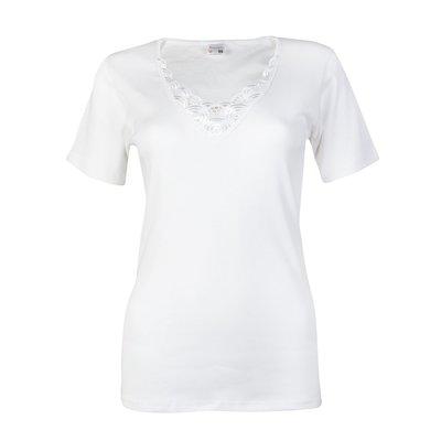 Dames onderblouse (T-shirt) K.M. Beatrix M3000 Wit