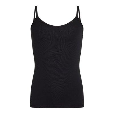 Meisjes spaghetti hemd (top) Elegance Zwart