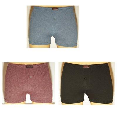 Basic 3-Pack wijdvallende Heren boxershorts gekleurd