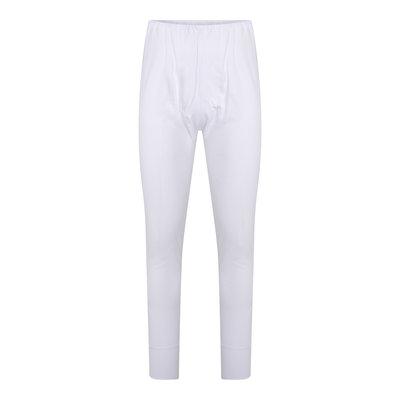 Heren lange pantalon met gulp M3400 Wit