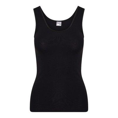 Dames hemd met breed bandje Beeren Young (Tactel) Zwart
