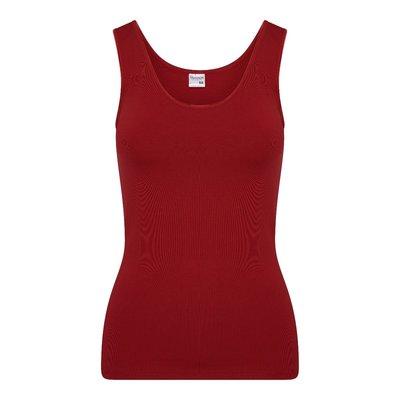 Dames hemd Elegance Chilipepper (Donkerrood)