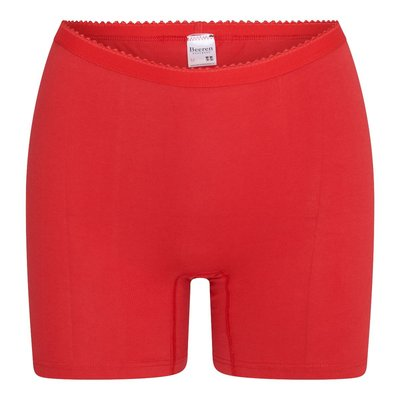 Dames boxershort Softly met lange pijp Rood