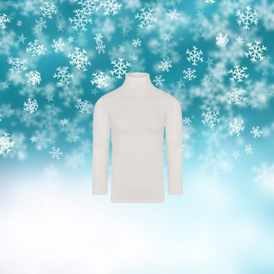Unisex thermo colshirt met L.M. Wolwit