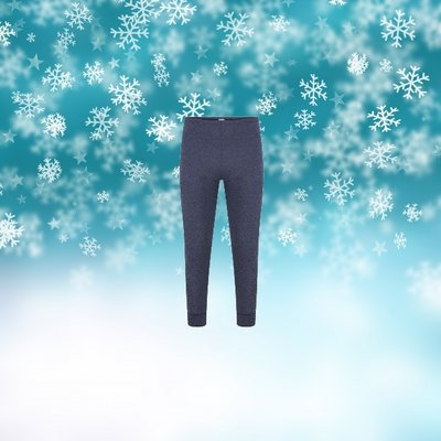 Unisex thermo pantalon Marine