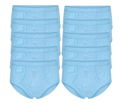 10-Pack heren slips M3000 Bleu
