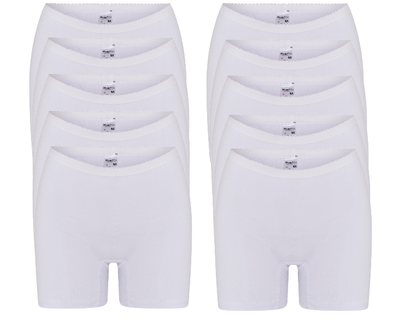 10-pack dames boxershorts Softly Wit