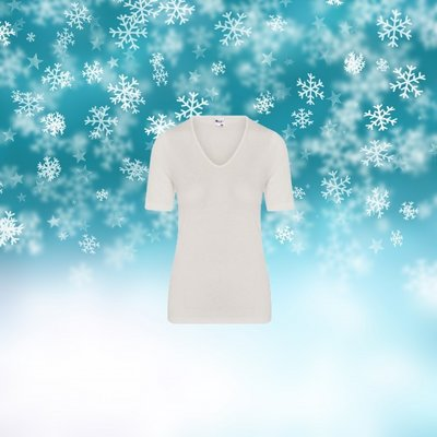 Thermo Dames shirt met K.M. Wolwit