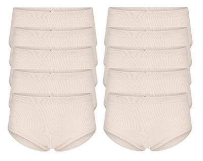 10-Pack dames slips Belinda Huid (Taille)