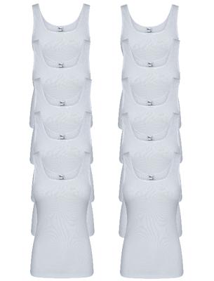 10-Pack Dames hemden Madonna Wit