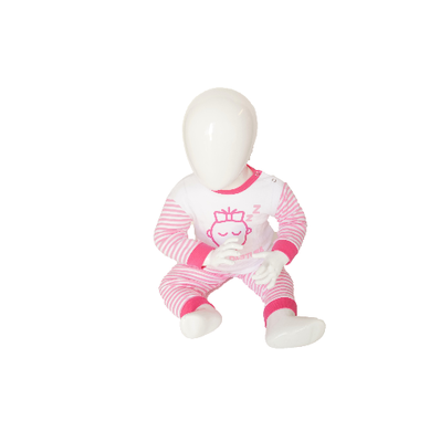 "Baby pyjama M3000 ""Do not Disturb"" Roze"