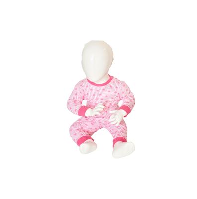 Baby Pyjama M3000 Stripe/Star Roze