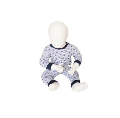 Baby Pyjama M3000 Stripe/Star Marine