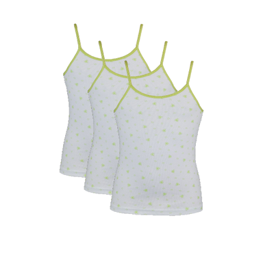 3-Pack Meisjes Tops Love Lime