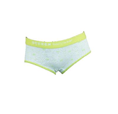 Meisjes slip Love Lime