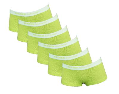 6-Pack meisjes shorts Vicky Groen