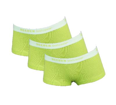 3-Pack meisjes shorts Vicky Groen
