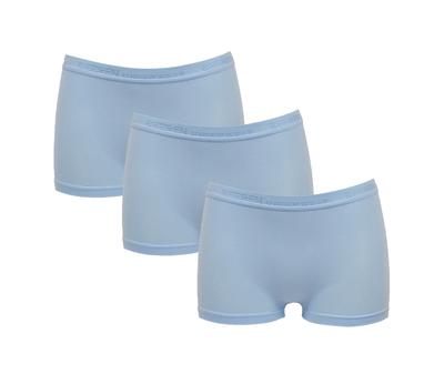3-Pack Dames boxershorts Beeren Young (Tactel) Bleu