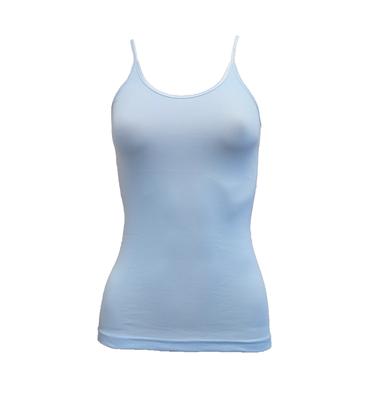 Dames hemd spaghetti bandje Beeren Young (Tactel) Bleu