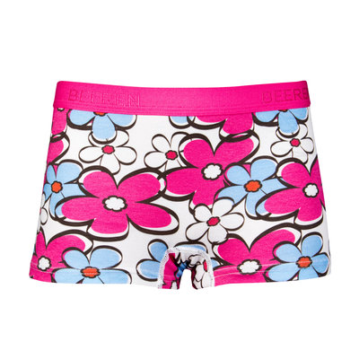Meisjes boxershort Colorful Flowers