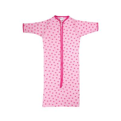 Baby slaapzak Stripe/Star Roze
