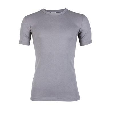 Heren T-shirt met ronde hals en K.M. M3000 Grijs
