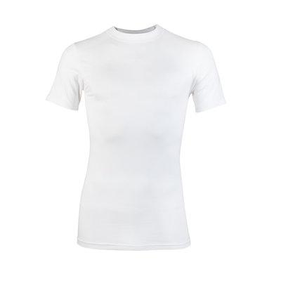 Heren T-shirt met ronde hals Comfort Feeling Wit