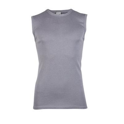 Heren mouwloos shirt met ronde hals M3000 Grijs