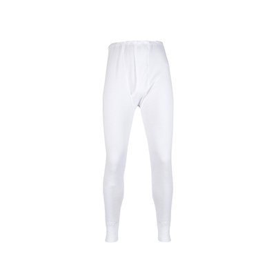 Heren lange pantalon M3400 Wit
