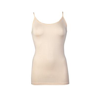 Dames hemd met spaghetti bandje Elegance Ivory Cream