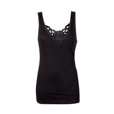 Dames hemd Viola Zwart