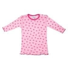 Baby Nachthemd stripe/star Roze