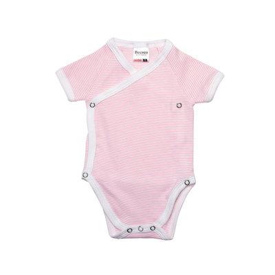 Baby overslag romper M401 Roze