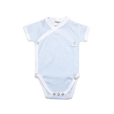 Baby overslag romper M401 Blauw