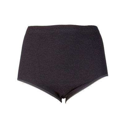 Dames tailleslip (Maxi) Briljant Zwart