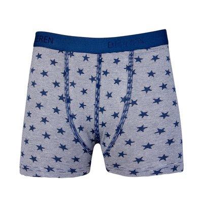 Jongens boxershort Stripe/Star Blauw