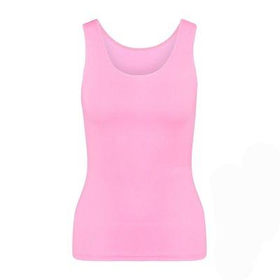RJ Pure Color Dames shirt Felroze