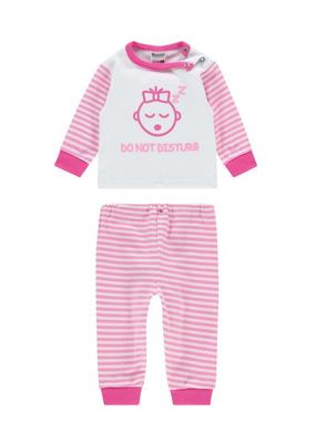 "Baby pyjama M3000 ""Do not Disturb"" Roze"
