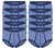 10-Pack heren slips M2000 Blauw