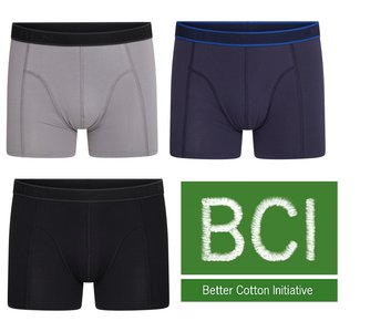 3-Pack Heren boxershorts C.F. Hugo Assorti
