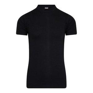 Heren T-shirt met O-Hals Comfort Feeling Zwart