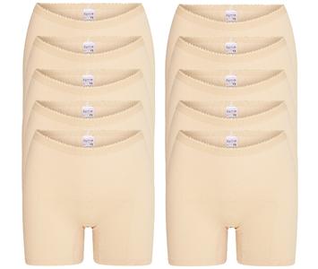 10-Pack dames boxershorts Softly Huid
