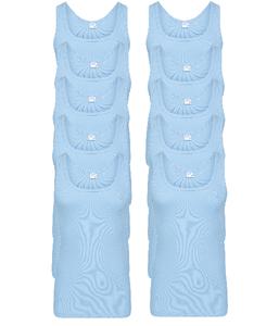 10-Pack heren singlets M3000 Bleu